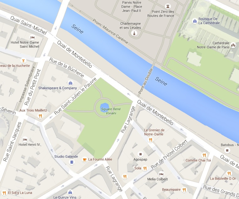 mapa-square-rene-viviani-paris