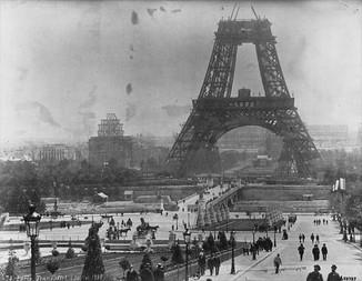 Vista da Torre a partir do Trocadéro - Julho de 1888