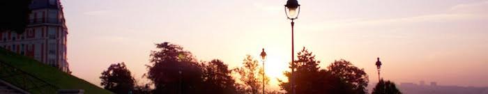 Paris-manhã-nascer-do-sol