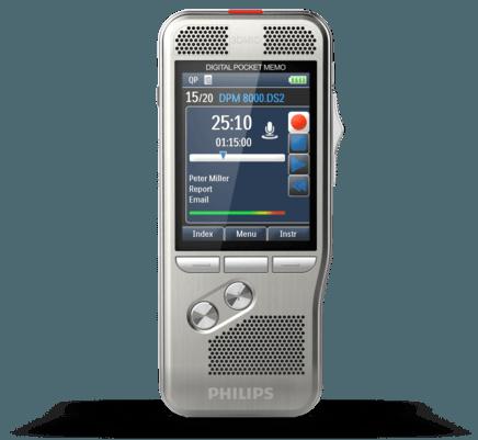 Philips DPM 8000 Pocket Memo