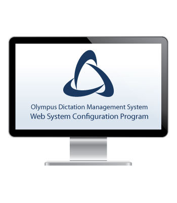 Web System Configuration Program (AS-57) - Olympus Professional Dictation