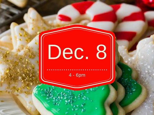 Christmas Cookie Decorating Workshop & Contest!