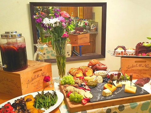 The Grazing Table (Priced Per Person - Minimum 25)