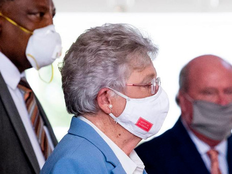 Governor Ivey extends mandatory mask order through October 2