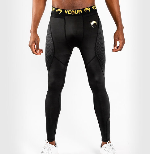 Venum Spats G-Fit Compression Tights Black/Gold
