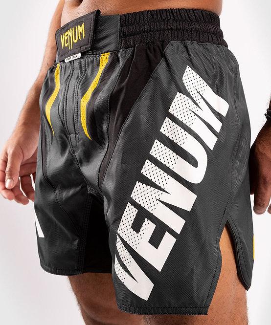 Venum ONE FC Impact Fightshorts - Grey/Yellow