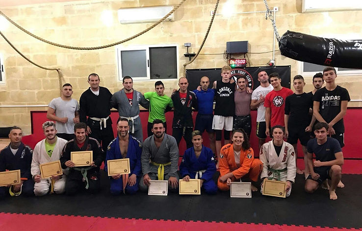Jiu-jitsu; Martia Arts; belts; team; malta
