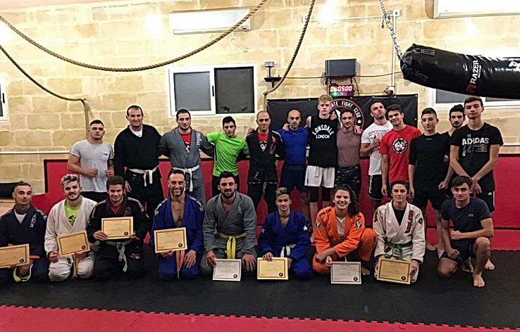 Jiu-jitsu; Martia Arts; belts; team; malta