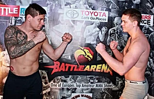 Semi pro MMA battle arena Uk malta