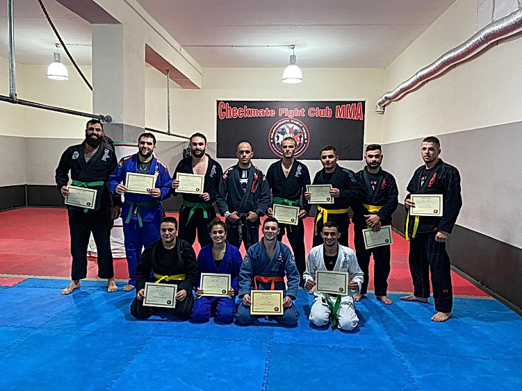 Jiu-jitsu gradings exams
