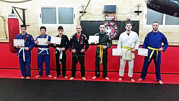 Jiu-jitsu malta belts