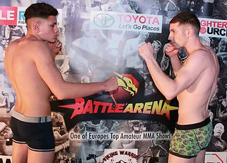 Semi pro MMA battle arena Uk malta
