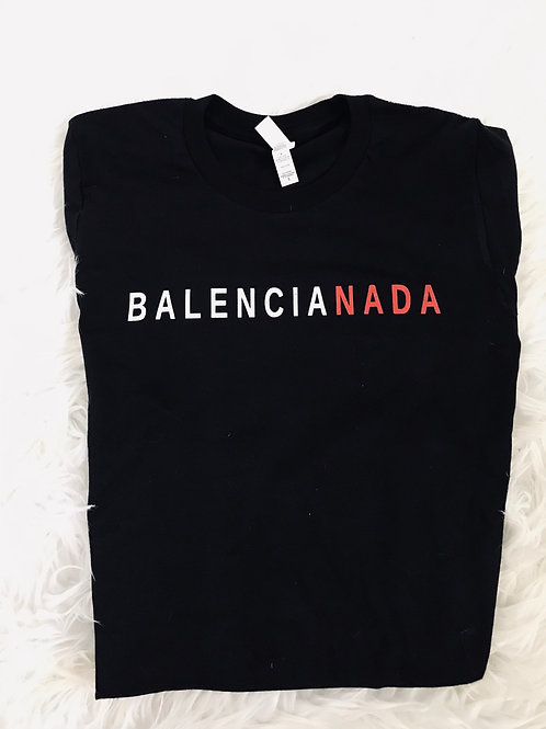 BALENCIANADA BUT MAKE IT FASHION TOP - Black
