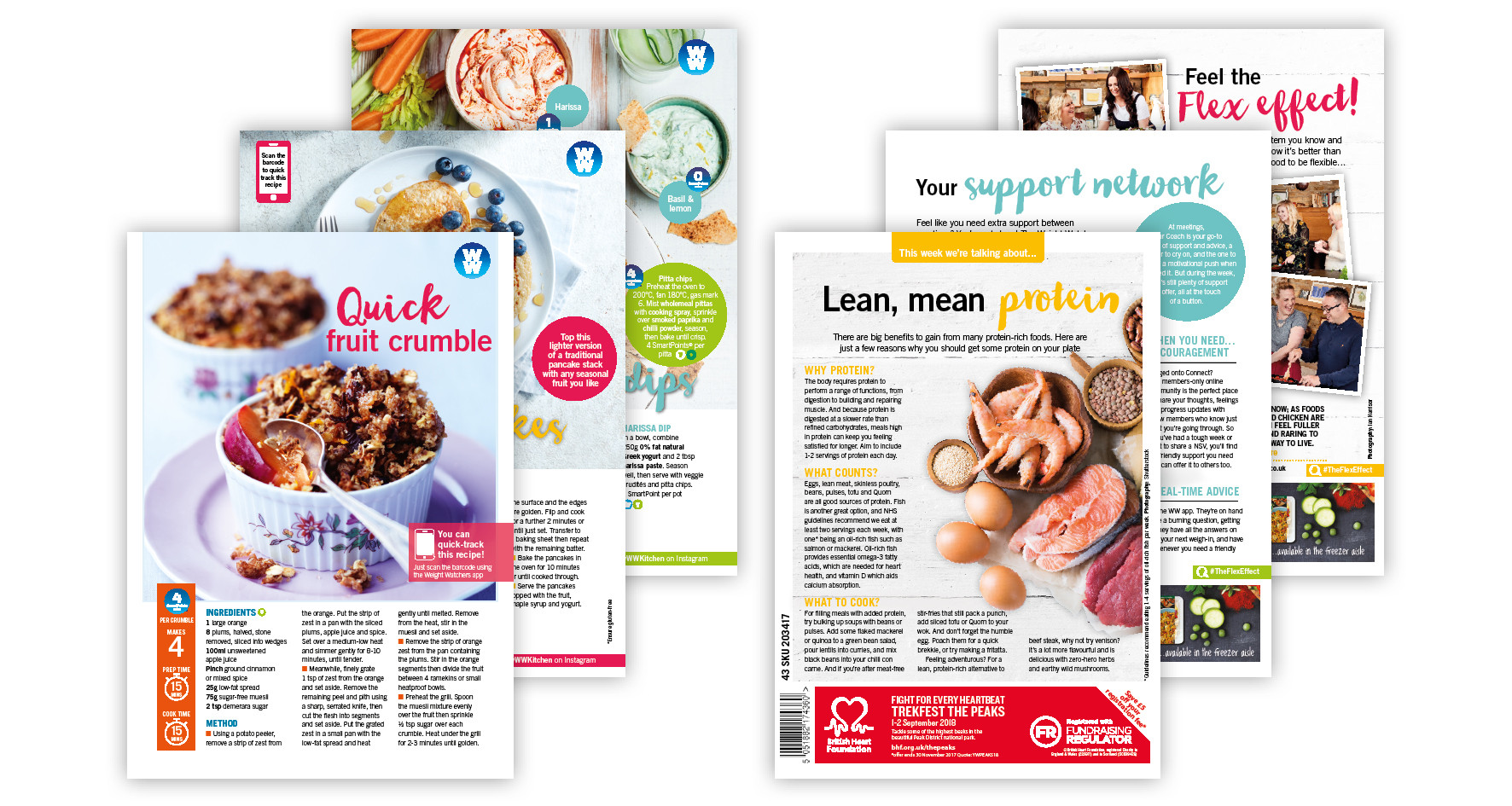 Recipe Cards for Weight Watchers