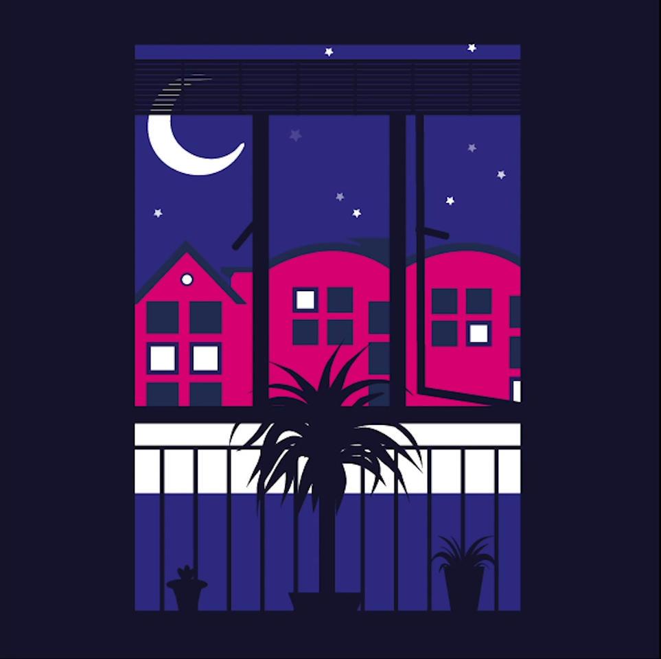 A starry night in lockdown