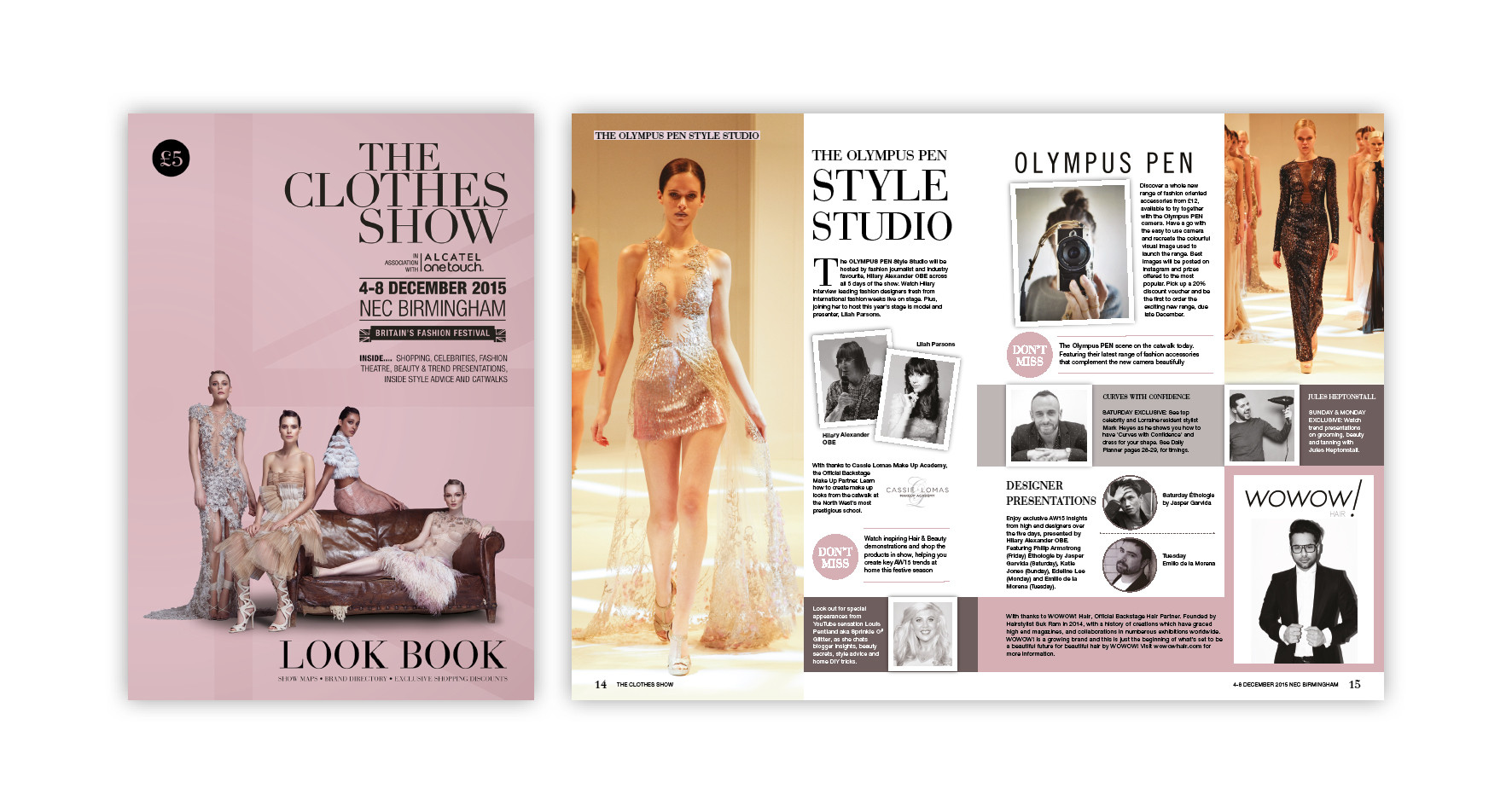 Exhibition Show guide for The Clothes Show Live
