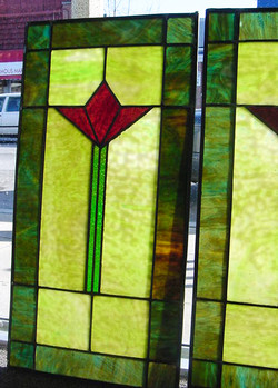 Modern leaded glass
