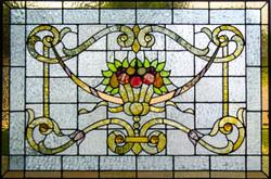 Restored leaded glass
