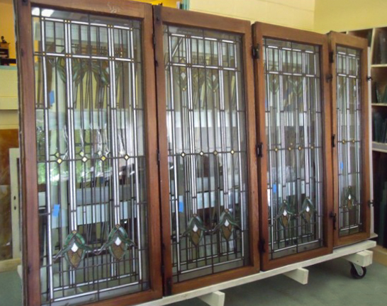 Leaded glass restoration