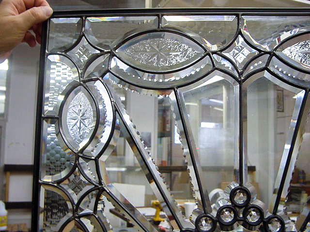 Bent glass, Bent glass lamp panel,