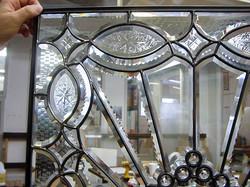 Bent glass, Bent glass lamp panel,