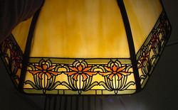 Lampshade illuminated