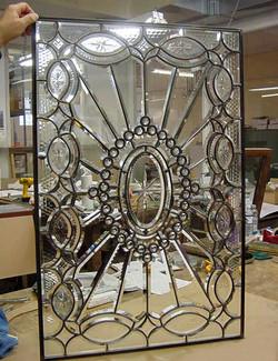 Beveled glass restoration