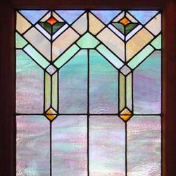 Custom leaded glass window