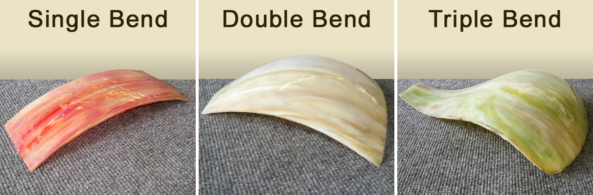 Three types of bends