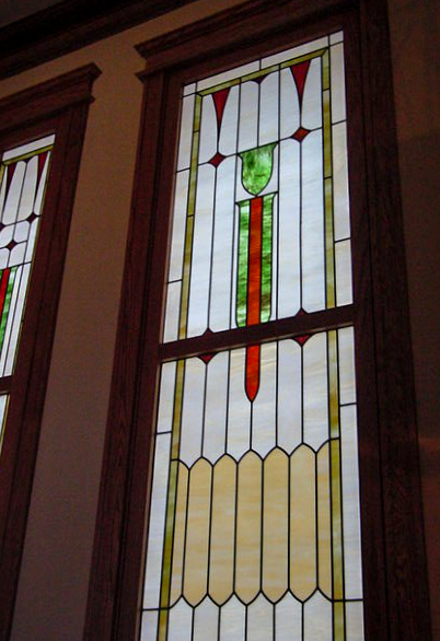 Leaded window