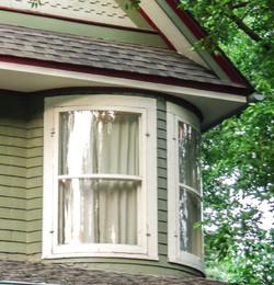 Victorian bent window restoration