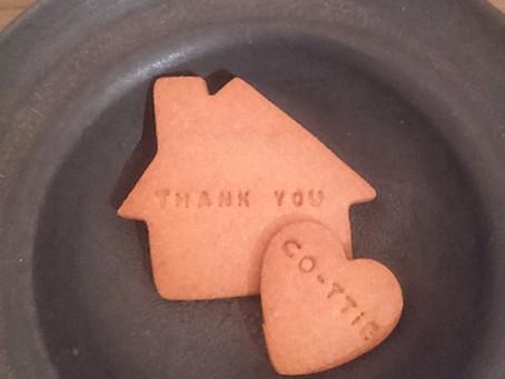 thank  youクッキー
