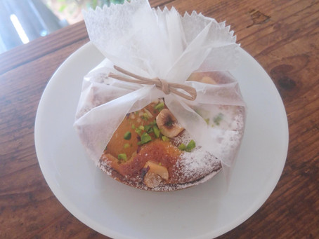 杏とヘーゼルナッツのタルト