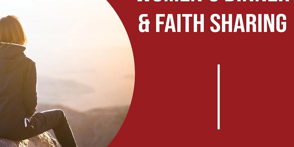Women's Dinner & Faith Sharing-April