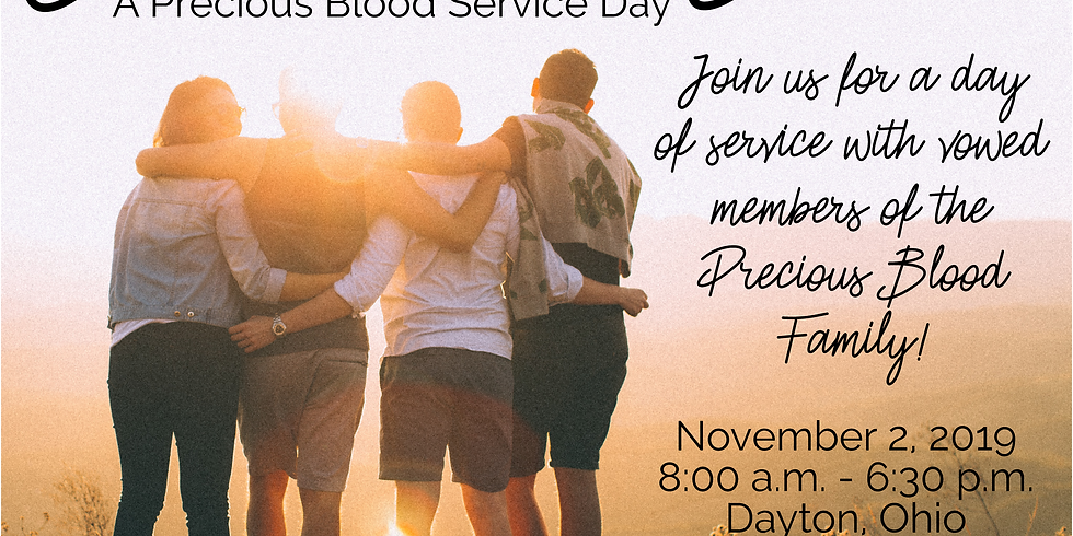 Precious Blood Service Day