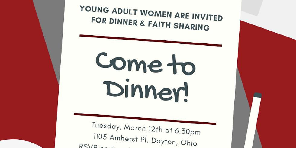 Women's Dinner & Faith Sharing - March