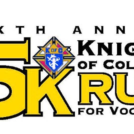KofC 5K Run/Walk for Vocations
