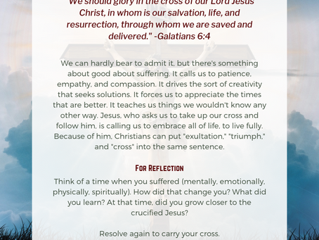 Exult in the Cross