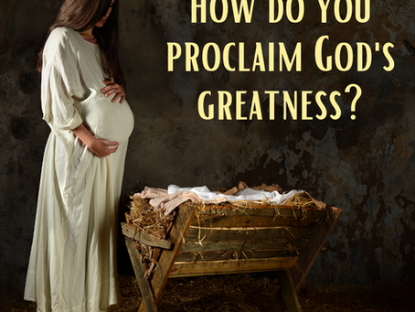 What does your soul proclaim?