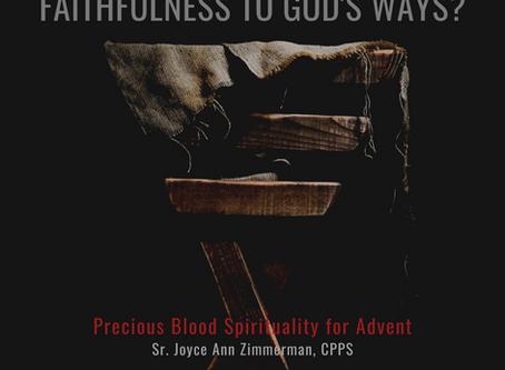 A Precious Blood Advent, 4th Sunday