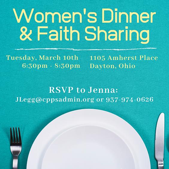 March Women's Dinner