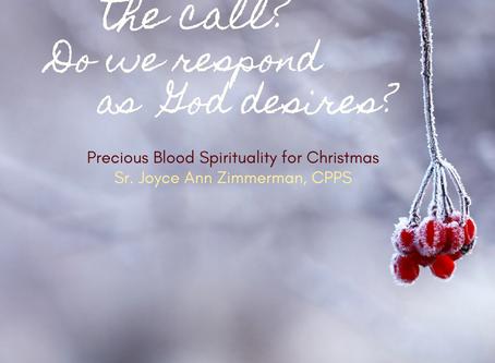 A Precious Blood Christmas, Baptism