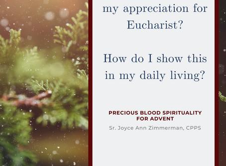 A Precious Blood Advent, 2nd Sunday