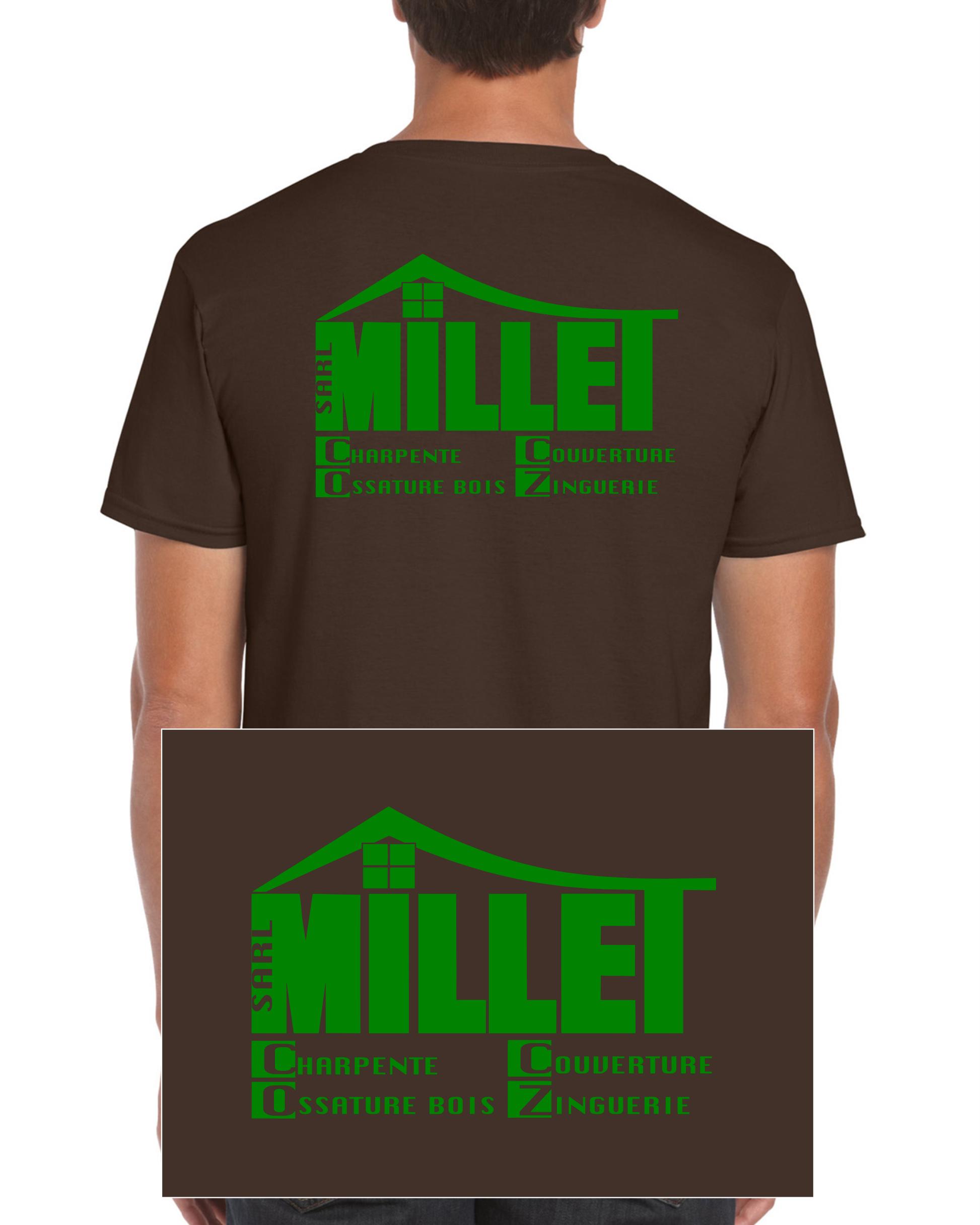 Simulation ARRIERE tshirt