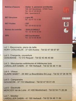 2 HORY CHAUVELIN PANNEAU CHANTIER PUBLICITE BSP CHINON RICHELIEU 37 86 SAC DE LESTAGE PROTOTYPE  SEL