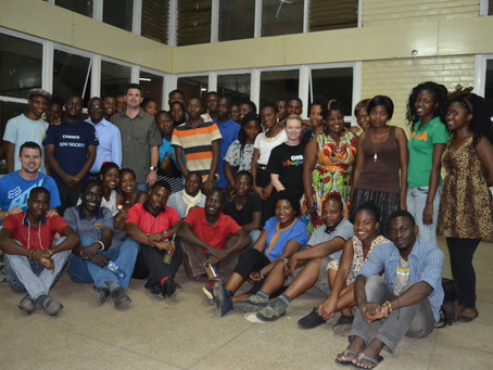 The First International YouthMappers Exchange between Malawi and South Africa, Part One*.