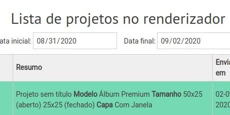 Ferramenta de download de projetos renderizados