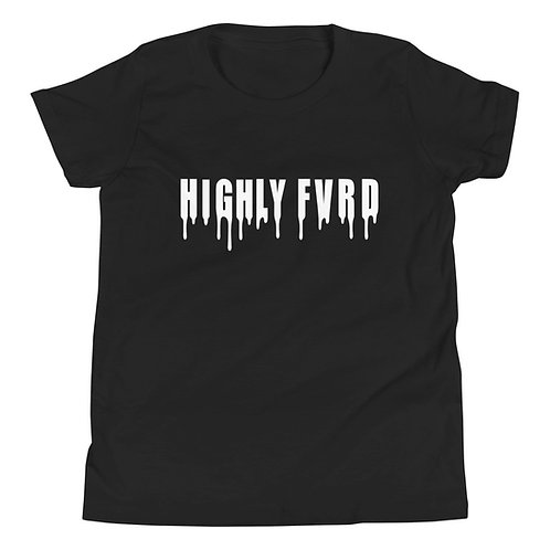 YOUTH Highly FVRD Drippy T (White Logo)