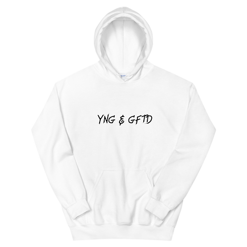 Young & Gifted Hoodie (Black Logo)