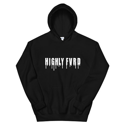 Highly FVRD Drippy Hoodie (White Logo)